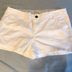 Merona white shorts